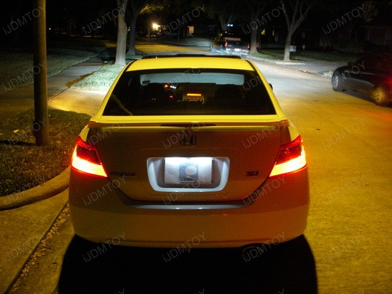 Honda - Civic - LED - license - plate - lights - 3